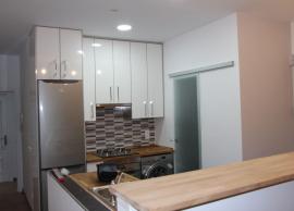 Detalle cocina abierta
